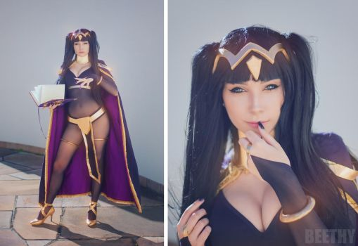 Tharja - Fire Emblem -02- by beethy