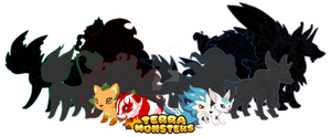 Terra Monsters by LunaHydreigon