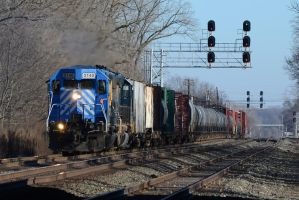 CEFX and CSX Q393-08 1-10-12 by the-railblazer