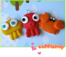 Under the sea charms by coffishop