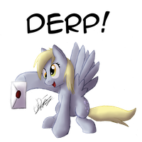 Derpy Hooves by Sc0t1n4t0r
