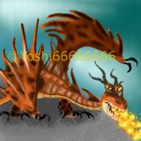 HTTYD - Monstrous Nightmare by Yoshi66666666