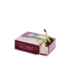 Box of Matches by emptypulchritude