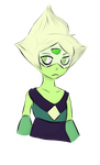 sleepy peridot by rfpizippy