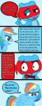 Rainbow dash vs Splendid Page 5 by FeryelDell