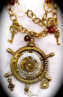 Steampunk Maritime Wheel by Lucky978