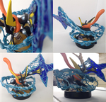 Greninja Custom Amiibo by Shadinski