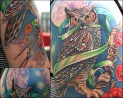 owl detail 2 by Phedre1985