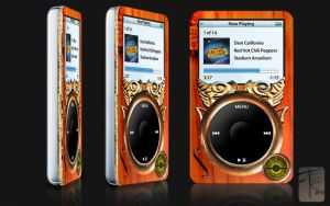 Steampunk iPod by zerobyte