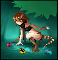 Commission: Kiah of the Forest by yamer