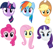Main Six Faces by PaulySentry