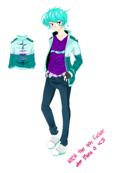 NiCK REDESIGN 2015 by Mochi-lover