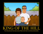 King of the Hill Motivational by Sephirath21000