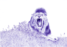 Lion by Cac0ps