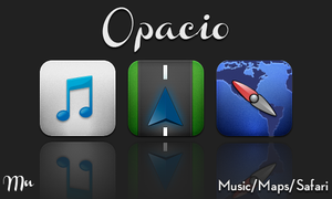 WIP Opacio Music, Maps, Safari by MitchNied