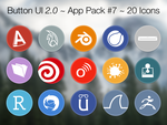 Button UI 2.0 ~ App Pack #7 by BlackVariant