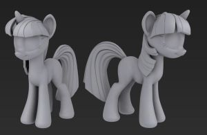 Twilight - Wip 03 untextured by Hashbro