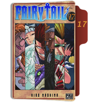fairy Tail Tome 17 Folder by sostomate9