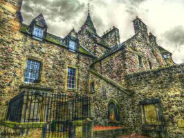 Scottish Building by Estruda