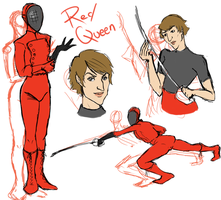 Red Queen Concept by SinisterlySweet