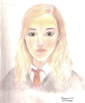 hermione granger by teialima