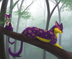 Poyi's Jungle - In the Trees by Yoriden