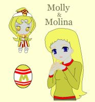 Molly and Molina by dannichangirl