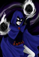 Raven: fighting mode by CeciliaSal