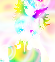 Flippy is Mine Multicolor by Pallypucca