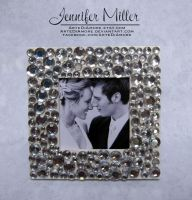 Embellished Picture Frame by ArteDiAmore