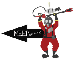 Meep the Pyro by Meepity-Meep