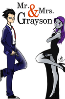 Mr. and Mrs. Grayson by aniraie