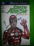 Green Arrow sketch cover featuring Deadpool by halwilliams