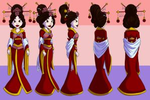 The Original Aladdin-Princess Turnaround by kcday