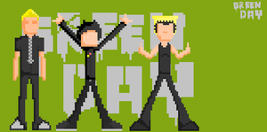 green day pixel by Art-Josh
