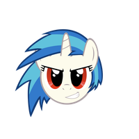 Vinyl Scratch - Let's Do This by GeoNine