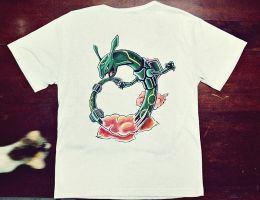Rayquaza T-shirt by Kboomz
