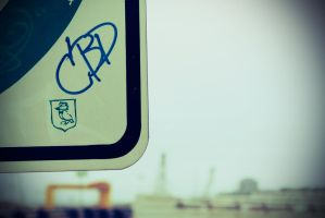 Graffiti Sign by lonely-heart5