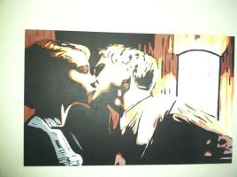 Drive The Movie- Kissing Scene by ArtWorkCustom