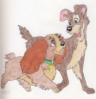 Lady and the Tramp by CaperGirl