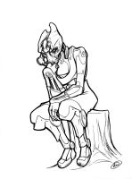 Mordin: The Thinker by AdamWithers