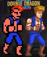 Billy Lee Double Dragon II by jaredjlee