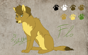 Flo - character reference by StanHoneyThief