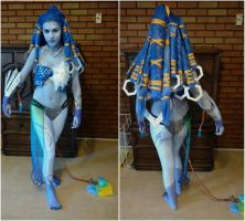 Final Fantasy X-Shiva Cosplay by cloudstrife597