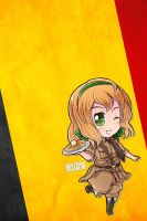 Hetalia iWallpapers - Belgium by Dreamweaver38