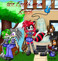 GFandR Comic Book Cover by kittycatchan