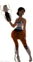 chell by benevoak