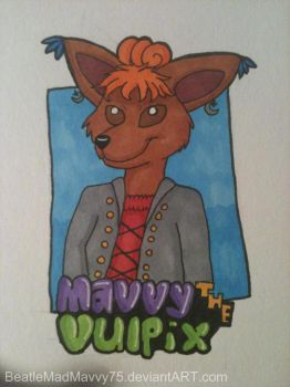 My first 'con badge' by BeatleMadMavvy75