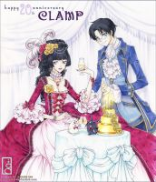 CLAMP 20th Anniversary by junosama