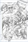 Dog Eaters issue 2 pencils by Giye